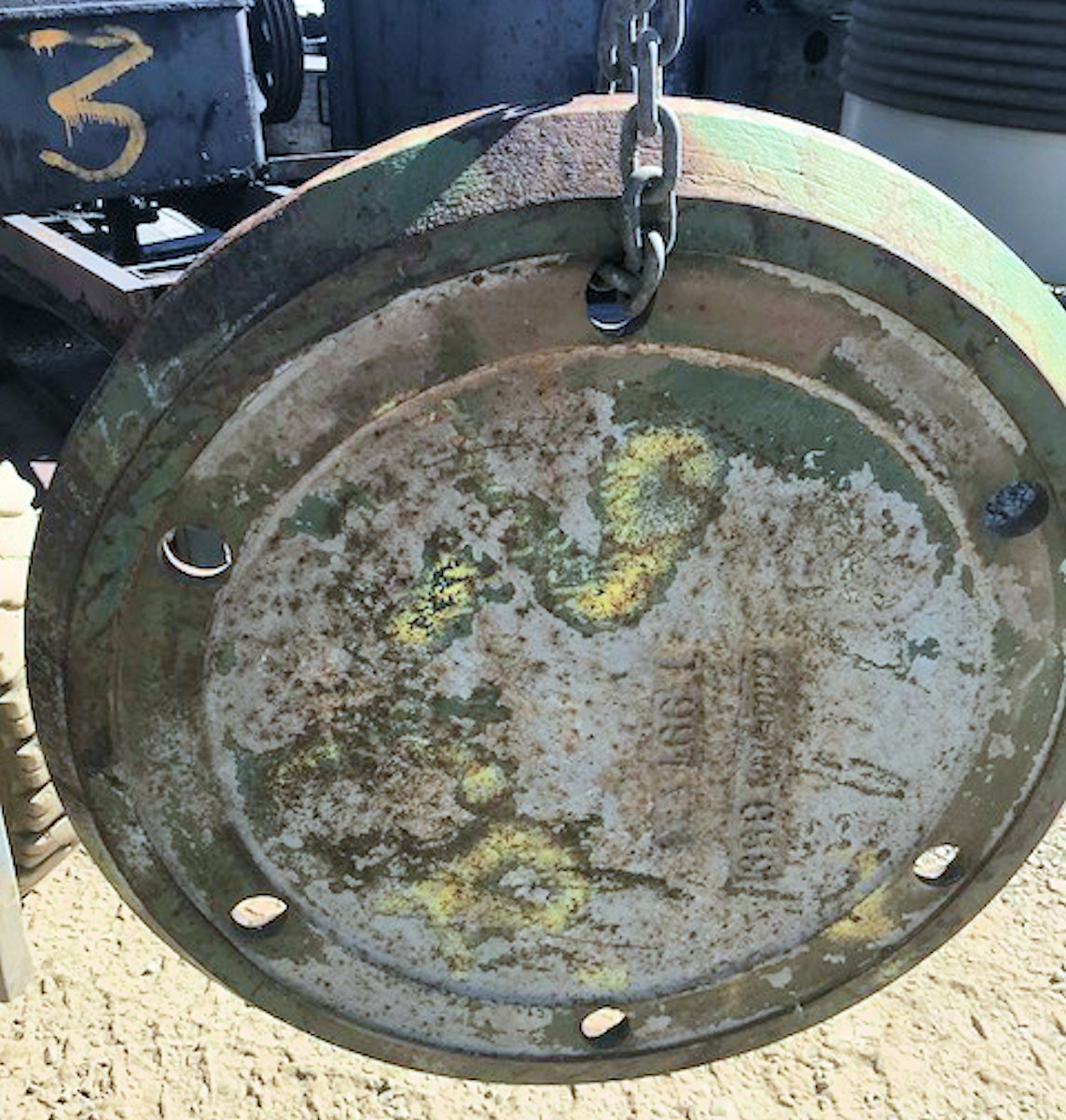Spare Feed Distributor Plate For 7' Cone Crusher