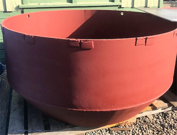 Feed Hopper for 7' Cone Crusher