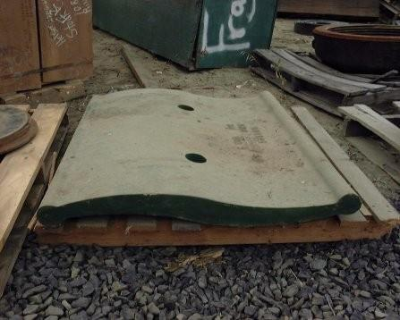Unused Columbia Toggle Plate For Jaw Crusher, #c605-33 Wb B55 177185-95