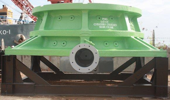 "ALLIS CHALMERS-KOBE STEEL 54"" x 74"" Superior Gyratory Crusher"