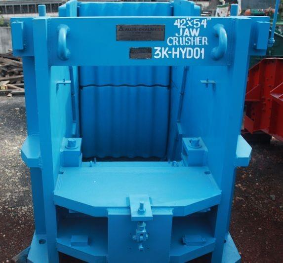 "KOBE STEEL - ALLIS CHALMERS 42"" x 54"" S-T Jaw Crusher, 150 kW (200 HP), 50 Hz motor"