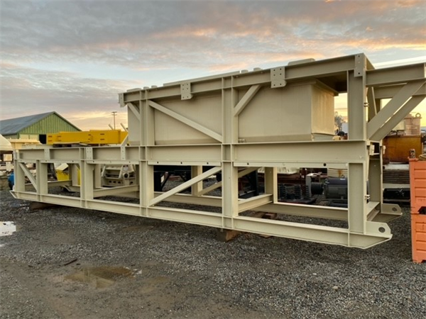 NORDBERG Portable Impact Crushing Plant with Model HS 1010 Horizontal Impactor, Screen and Underconveyor