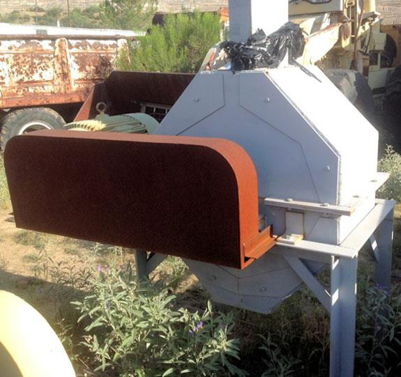Horizontal Impact Crusher with 30 HP motor