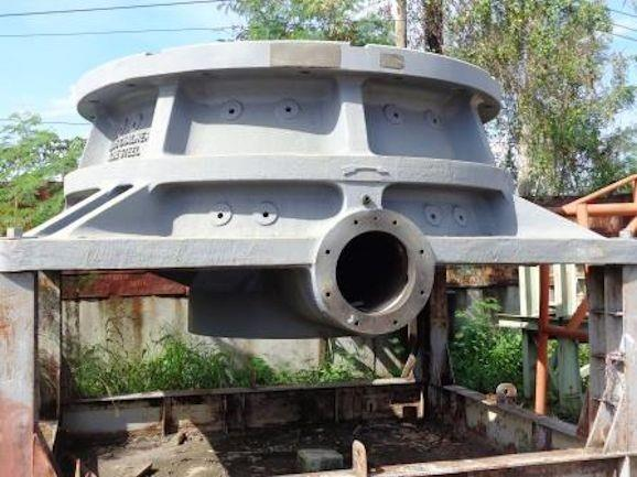 "ALLIS CHALMERS (Kobe Steel) 54"" x 74"" Gyratory PARTS including Bottom Mainframe, Countershaft & Hydroset"