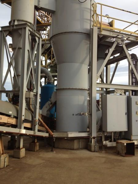 Thermal Kinetics Fluid Bed Dryer System Natural Gas