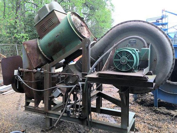 8' X 48' Dryer, With Hauck Model Tba 36-40-0x-16 Turbo Blower, And Starjet Model Sj200 Burner