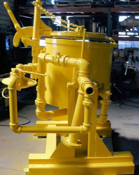 Lindberg Type 61-bb1-175 Melting Furnace With Crucible