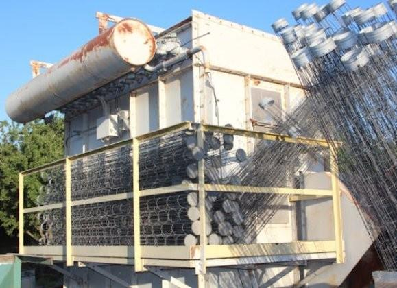 Kice Model # M120-10 Dust Collector, Rated For 12,600 Cfm, Set Up For (120) Bags