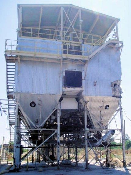 Baumco 6-compartment Pulse Type Dust Collector, 105,000 Cfm