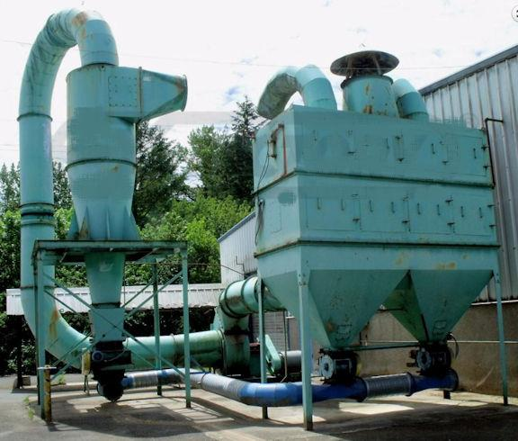 """AIR SENTRY """"BH400"""" Baghouse Dust Collector, 15,800 CFM with Rotary Airlock"""