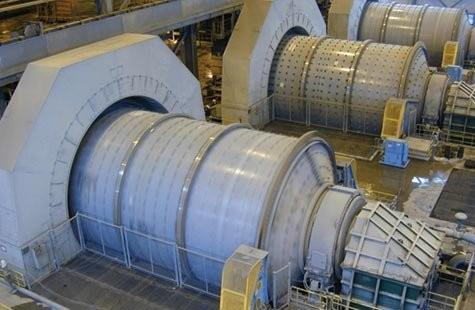 "2 Units - UNUSED FLSMIDTH 26' x 40'6"" (7.9m x 12.3m) Ball Mills Designed For 22,000 HP (16,400 Kw) Motors"
