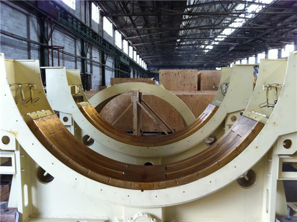"""2 Units - Unused Metso 22' X 36'5"""" (6.71m X 11.13m) Ball Mills, Each With (2) Ge Dual Pinion Synchronous 4,650 Kw (6,250 Hp) Motors"""