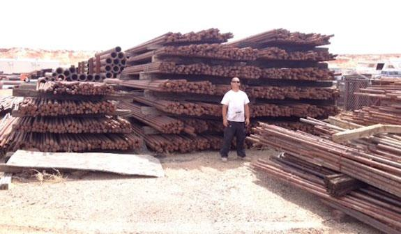 "Approximately 190 Short Tons of Steel Rods for 13' x 18'8"" Rod Mill"