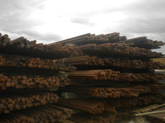 """Approximately 190 Short Tons Of Steel Rods For 13' X 18'8"""" Rod Mill"""