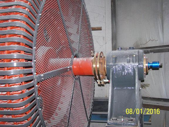Allis Chalmers 10' X 15' Ball Mill With Ac 800 Hp Motor, Shipping Skid Mounted, Full Diameter Grate Discharge