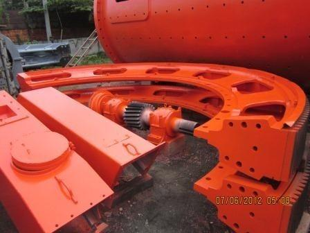 Allis Chalmers 10' X 18' (3.05m X 5.49m) Ball Mill, Supplied With Option 1250 Hp Ge Sync Motor