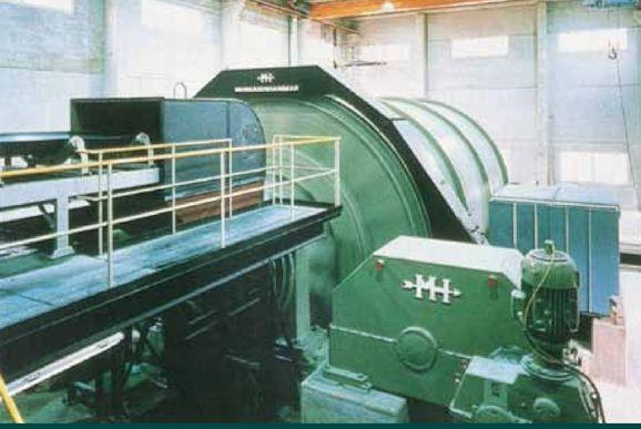 Morgardshammar 19.35' X 27.88' (5.9m X 8.5m) Pebble Mill, 3753 Hp (2800 Kw)