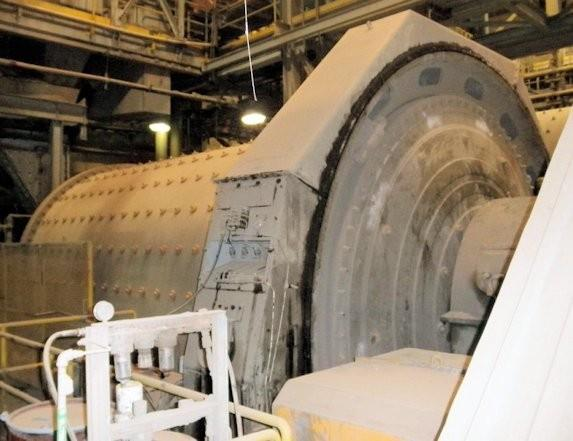 Canadian Allis-chalmers (svedala) 13' X 21' (4.0m X 6.4m) Ball Mill With 2,000 Hp (1,491 Kw) Motor & Rubber Liners