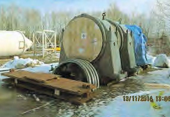 "Dominion 12'6"" X 16' Ball Mill With 1250 Hp Synchronous Motor"