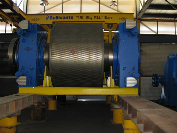 Unused Polysius Polycom Hpgr, Model 24/17 - 8, High Pressure Grinding Rolls With Twin 2650 Kw Variable Speed Drives.