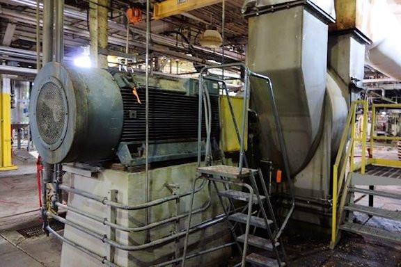 RAYMOND Model 83 SS Impact Mill (IMP Mill) with 400 HP motor