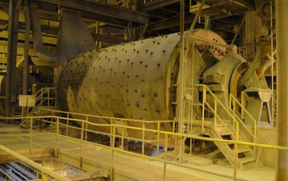 F.l. Smidth 14' X 24' Ball Mill With 2500 Hp, 60 Hz Synchronous Motor
