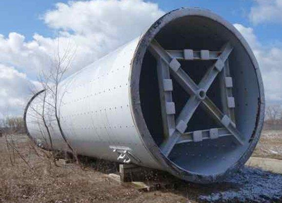 Allis Chalmers 13' X 43' Ball Mill With 4500 Hp Motor