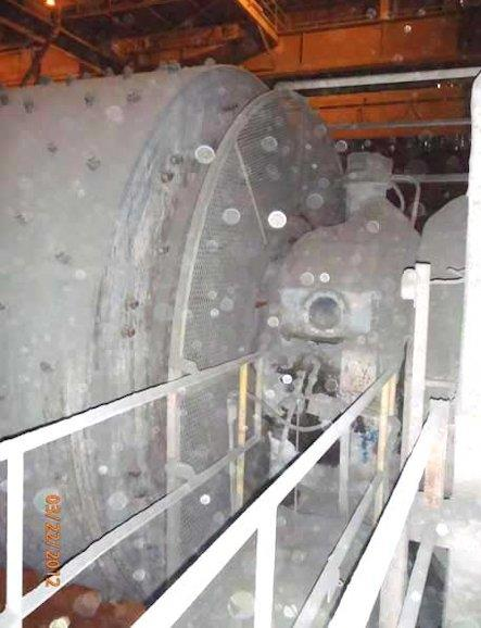 Traylor 14' X 24' Ball Mill With 2500 Hp Motor