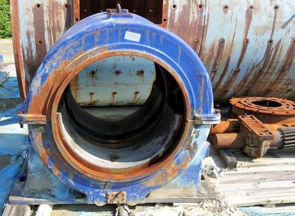Allis Chalmers 8' X 14' Ball Mill With 450 Hp Motor
