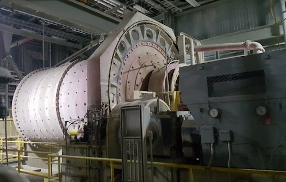 "ALLIS MINERAL SYSTEMS 13' x 20'5"" Ball Mills, with 1,750 HP Induction Motor"