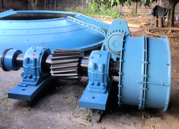 Boliden - Allis Chalmers 7.3m X 2.74m (24' X 9') Sag Mill With 3000 Hp (2,237 Kw) Motor