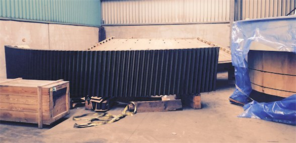 Unused Metso 22' X 38' (6706mm X 11582mm) Ball Mill, 10,000 Kw (13405 Hp) Twin Pinion 50 Hz Motors And Gear Reducers