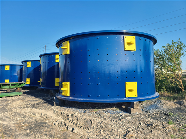 LOT of (2) UNUSED FLSMIDTH 22' x 36.5' Ball Mills with Dual 4,900 kW (6,662 HP) Motor Drives