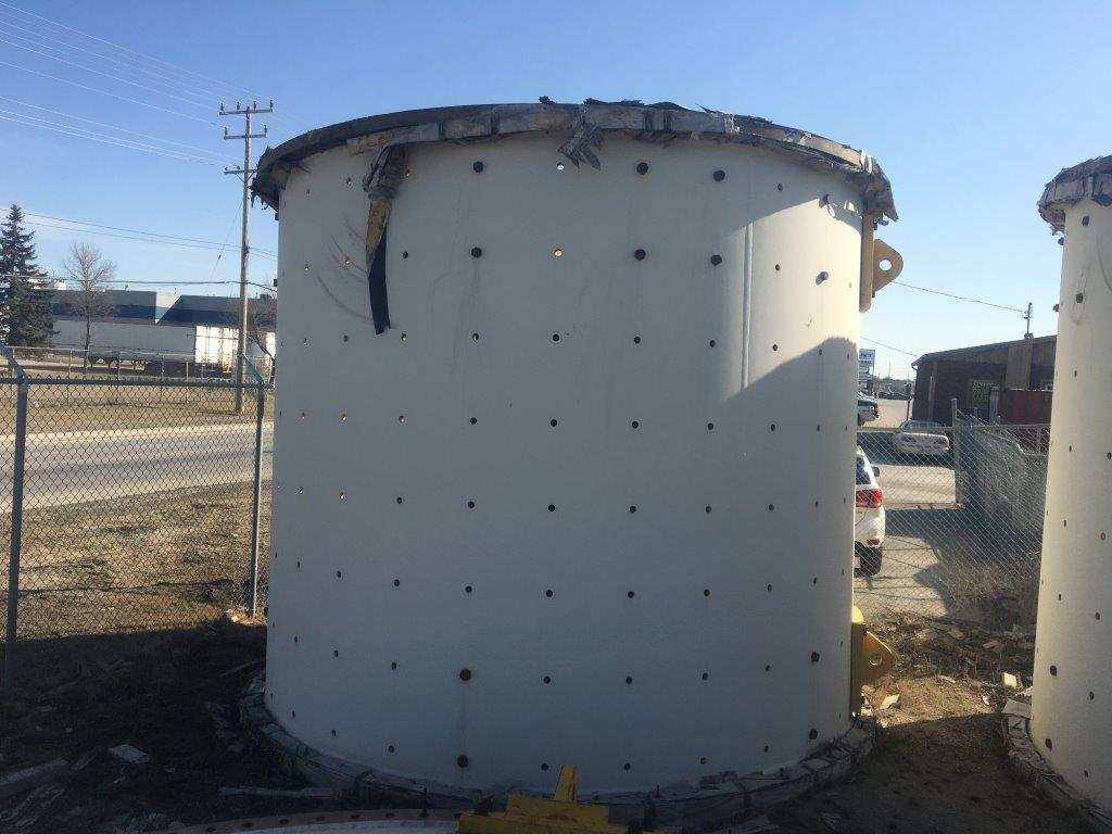 Unused Metso 15' X 27' (4.6m X 8m) Ball Mill With 3,300 Hp (2463 Kw) Abb Lss Synchronous Motor