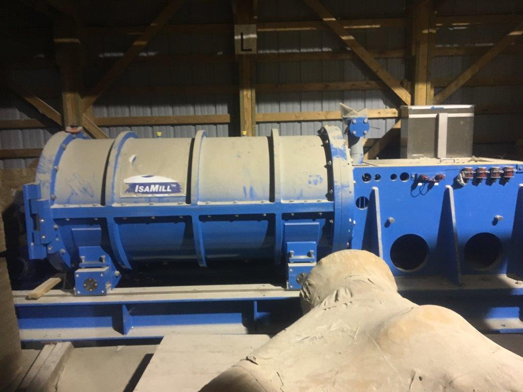 UNUSED ISAMILL Model M1000 Regrind Mill with 500 HP motor