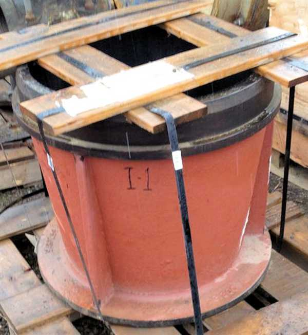 "Spare Head Insert For Ball Mill, 27"" O.d."