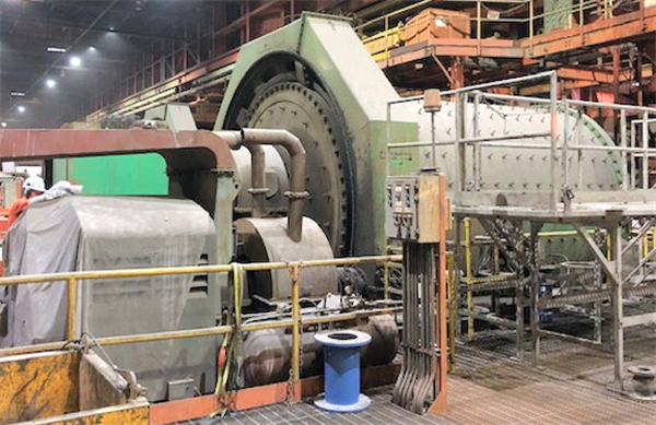 4 Units - ALLIS CHALMERS 12'  x 18' Ball Mills with 1,500 HP (1,119 kW) Motor