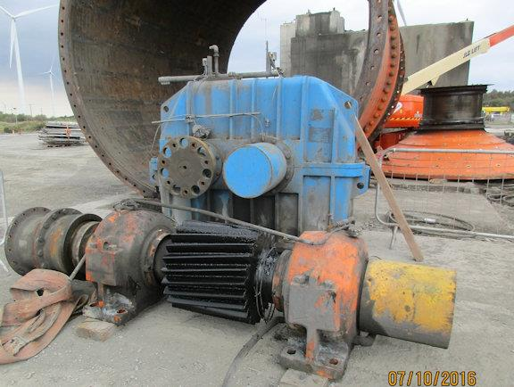 Ani 4.7m X 6.7m (15.5' X 22') Ball Mill With 2,300 Kw (3,084 Hp) Motor