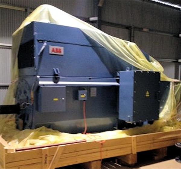 Unused Outotec 24' X 17' (7.325m X 5.2m) Egl Sag Mill With 6,300 Hp (4,750 Kw) Variable Speed Drive