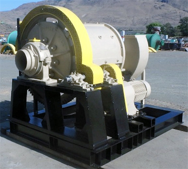DENVER 3' x 4' Skid Mounted Ball Mill with 20 HP Motor