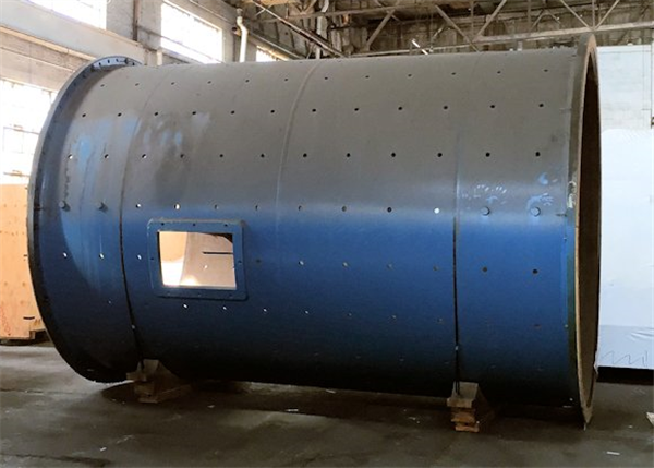 "UNUSED METSO 10'6"" x 16' (3.2m x 4.7m) EGL Overflow Ball Mill with 900 HP (671 kW) motor, 1200 RPM"