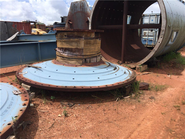 """Unused Metso 10'6"""" X 16' (3.2m X 4.7m) Egl Overflow Ball Mill With 900 Hp (671 Kw) Motor, 1200 Rpm"""