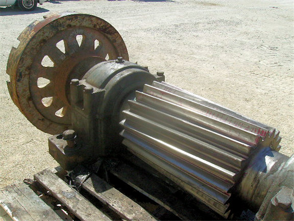 Allis Chalmers 9' X 18' Ball Mill With 850 Kw (1156 Hp) Motor