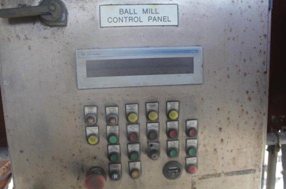 Morgardshammar 4.3m X 6.8m (14' X 22.4') Egl Ball Mill With Asea 1800 Kw (2413 Hp) Motor