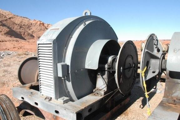 """Nordberg 13' X 18'8"""" (4m X 5.7m) Rod/ Ball Mill With 1,500 Hp (1,120 Kw) Motor."""