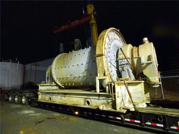 Kvs 7' X 12' Ball Mill On Operation Skid With 200 Hp Motor