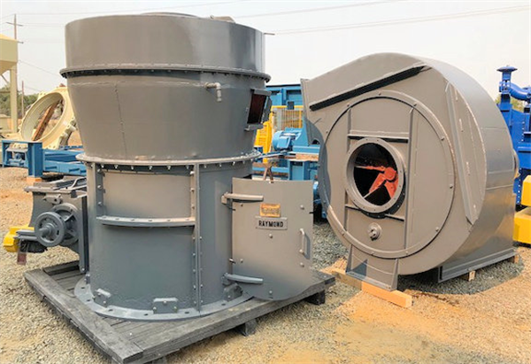RAYMOND Model 5057 High Side Roller Mills, 75 HP drive