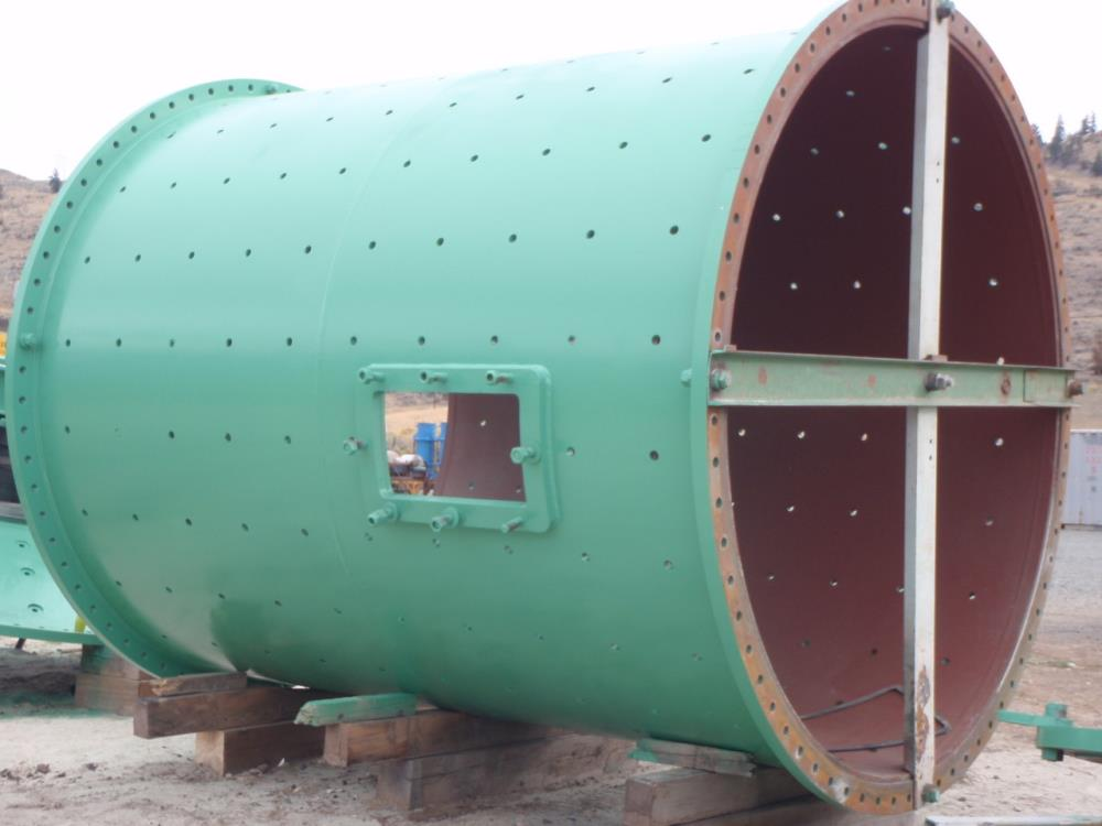 Hardinge-koppers 11' X 14' Ball Mill. No Motor (previously Installed With 800 Hp)
