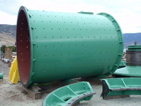 Dominion 11' X 14' Egl (3.4m X 4.4m) Ball Mill, No Motor (previously Installed With 800 Hp)