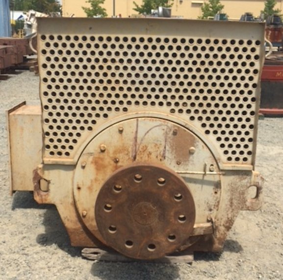 Parts From Morgardshammar 17' X 16' Sag Mill Including 1000 Kw Motors, Bull Gear, Pinion Gear, Gearboxes And More